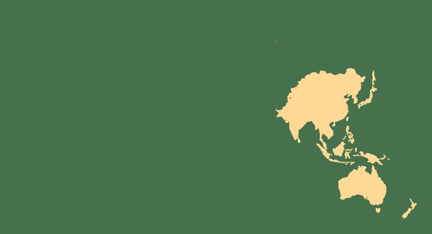 Asia & Oceania-map