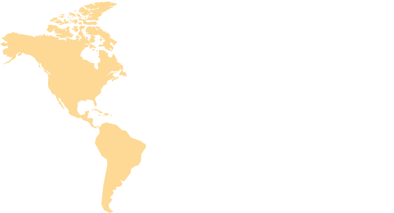 The Americas-map