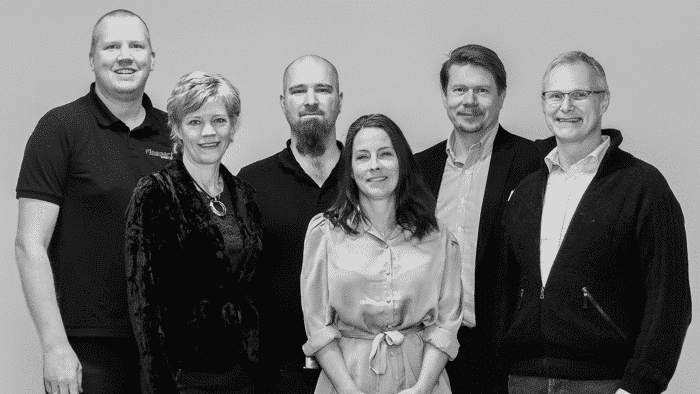 The Finepart team in Sweden